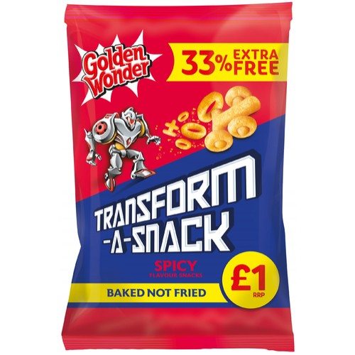 Transforma Saucy BBQ 33% Extra Free PM £1