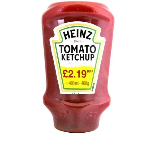 Heinz Ketchup Topdown PM £2.19