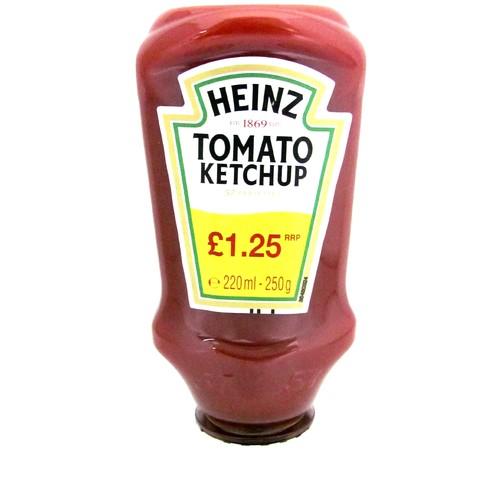 Heinz Ketchup Topdown PM £1.25