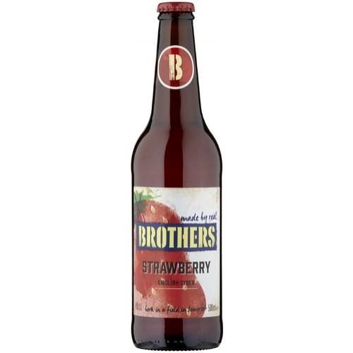 Brothers Strawberry English Cider 500ml
