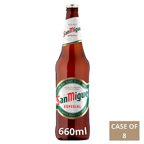 San Miguel Premium Lager Beer 660ml