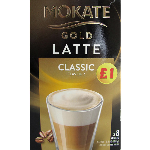 Mokate Gold Latte PM £1