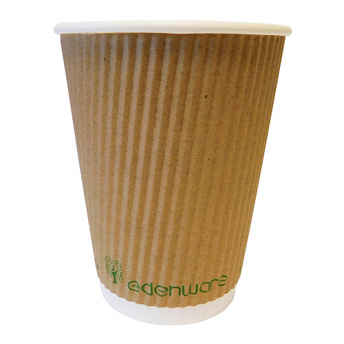 Essential Catering 12Oz Ripple Wall Cup Bio/Grade
