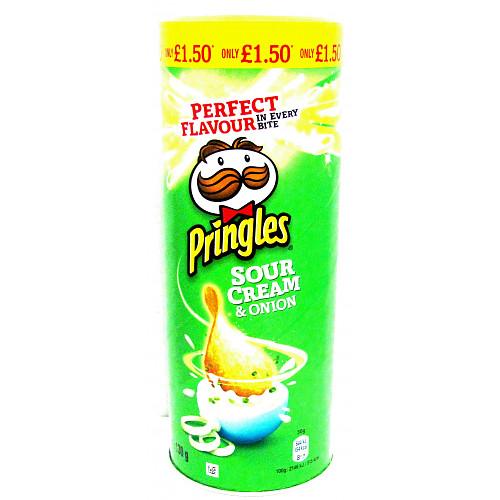 Pringles Sour Cream & Onion PM £1.50