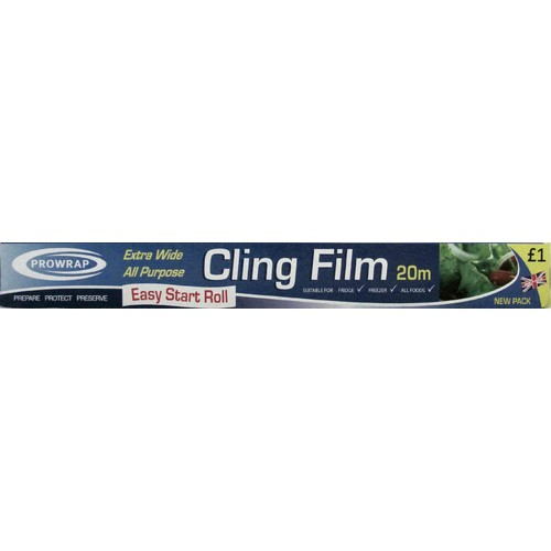 Prowrap Clingfilm PM £1