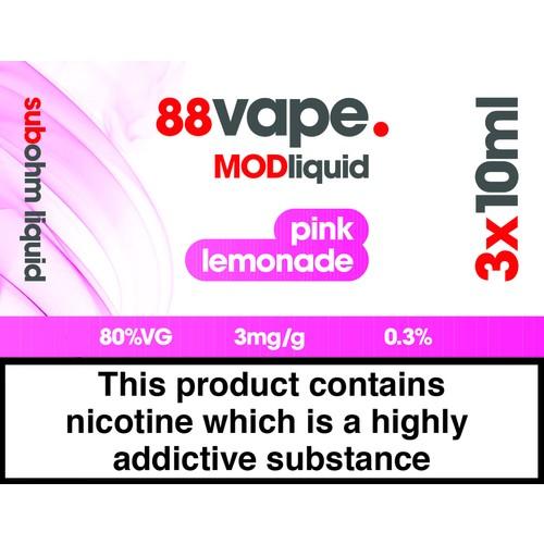 88Vape Mod Pink Lemonade 3Mg