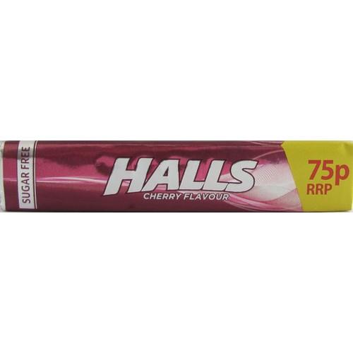 Halls Mentholyptos Cherry PM 75p