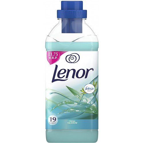 Lenor Fabric Conditioner With Fresh Meadow Dew 665ml 19 Washes