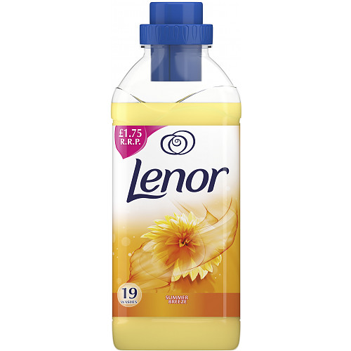 Lenor Fabric Conditioner Summer Breeze Scent 665ml 19 Washes