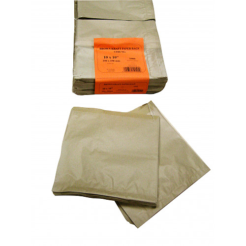 Brown Kraft Bags 7X7