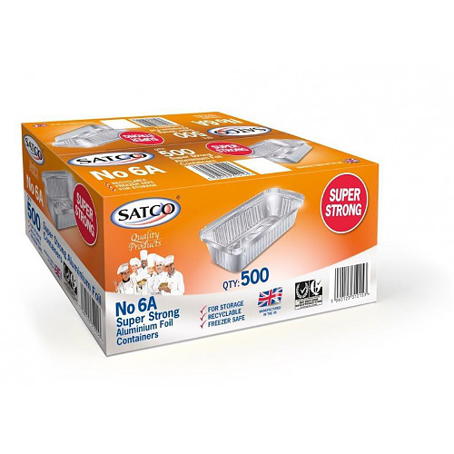Satco S/Strong Foil Container 6A
