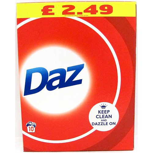 Daz Regular Washing Powder 650g 10 Washes