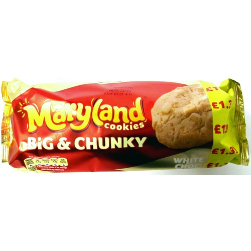 Maryland Big And Chunk White Choc & Caramel PM 1.39