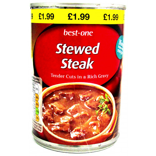 Best-One Stewed Steak 400g