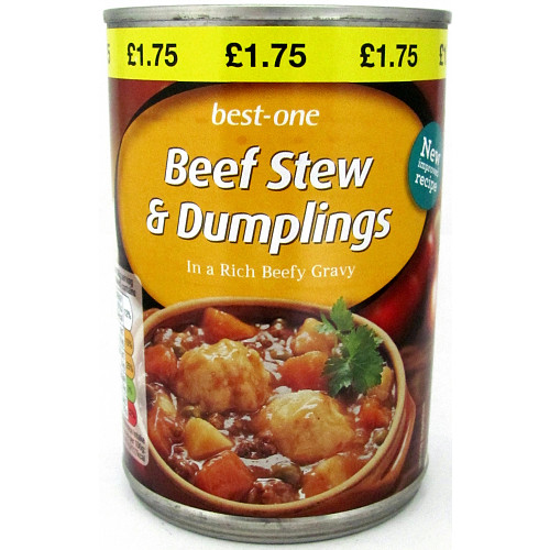 Best-One Beef Stew & Dumplings in a Rich Beefy Gravy 390g