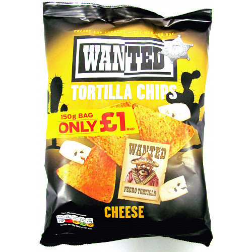 Wanted Tortilla Chips Cheese PM £1
