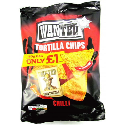 Wanted Tortilla Chips Chilli PM £1