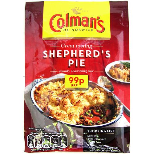 Colmans Cass Shepherd Pie PM 99p