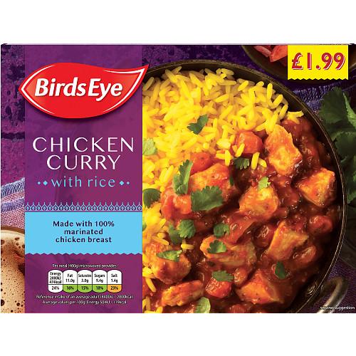 Birds Eye Chicken Curry PM £1.99