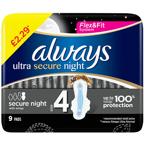 Always Secure Night PM £2.29