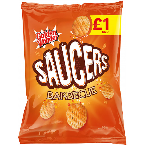 Saucers BBQ 25% Extra Free PM £1