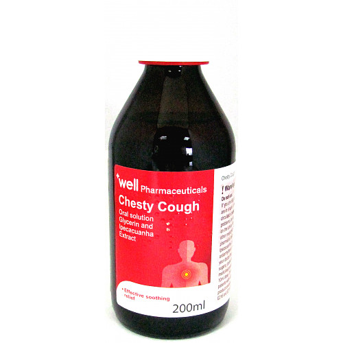 Well Adult Chesty Cough Syrup