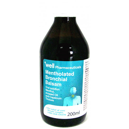 Well Mentholated Bronichal Balsam