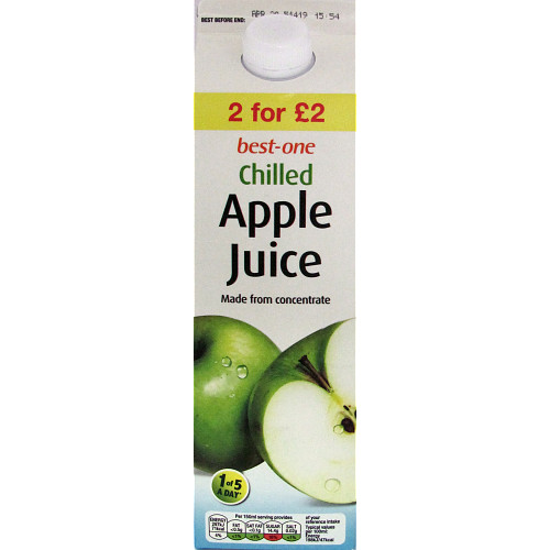 Bestone Apple Juice PM 2For £2