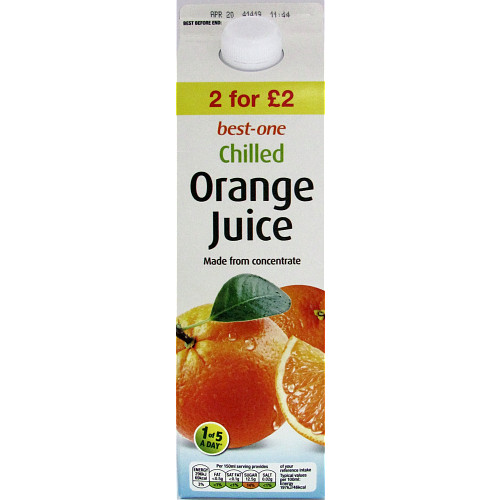 Bestone Orange Juice 2For £2