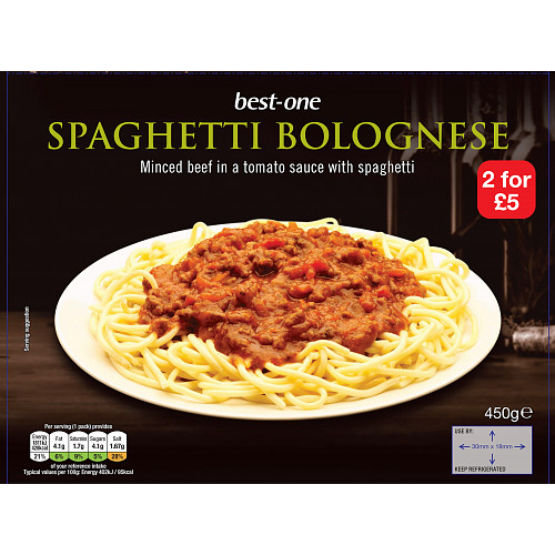 Bestone Spaghetti Bolognese 2For £5