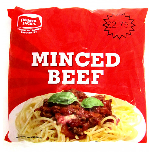 Farmer Jacks Minced Beef PM £2.75