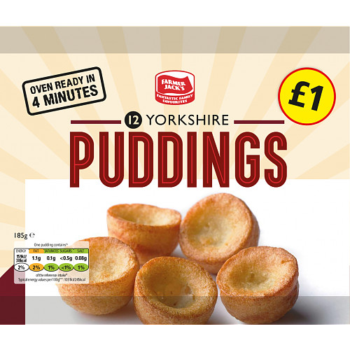 F/Jack Yorkshire Puddings PMP £1 12s