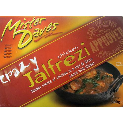 Mr Daves Chicken Jalfrezi