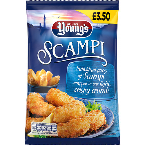 Youngs Scampi PM £3.50