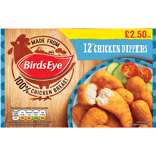 Birds Eye 12 Chicken Dippers PM £2.50