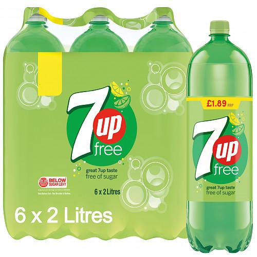 7Up Free 6 x 2L