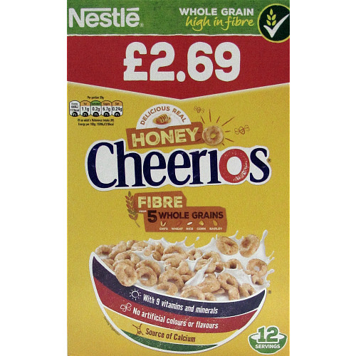 Cheerios Honey Cereal 375g