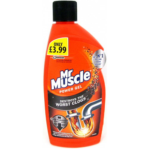 Mr Muscle Power Gel 500ml