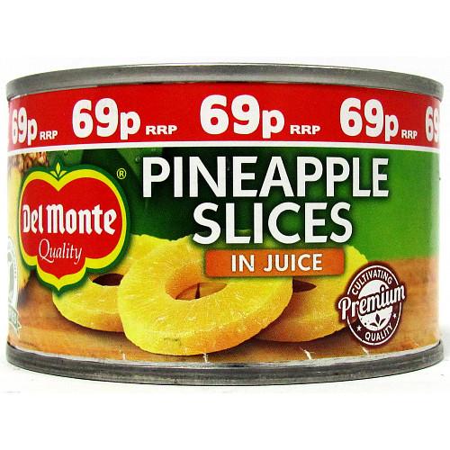 Del Monte Pineapple Slices In Juice PM 69p