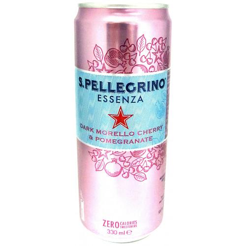 San Pellegrino Essenza Sparkling Cherry Water 12x330ml