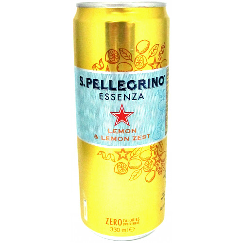 San Pellegrino Essenza Sparkling Lemon Water 330ml