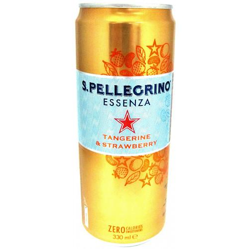 S.Pellegrino Essenza Tangerine and Strawberry 33cl