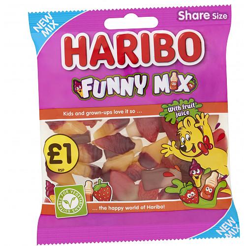 HARIBO Funny Mix Bag 180g £1 PM