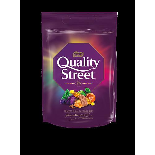 Quality Street Christmas Chocolate, Toffee and Cremes Sharing Bag 450g