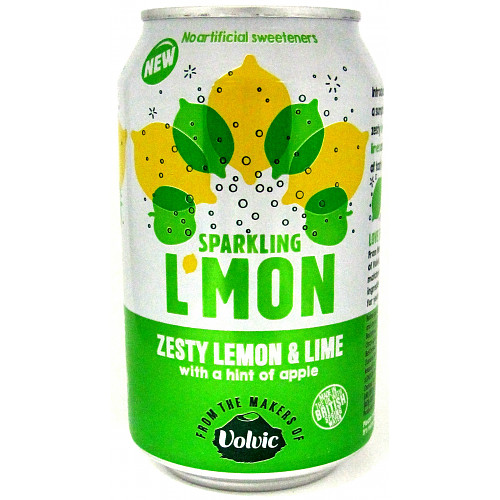 L'mon Sparkling Lemon & Lime 330ml