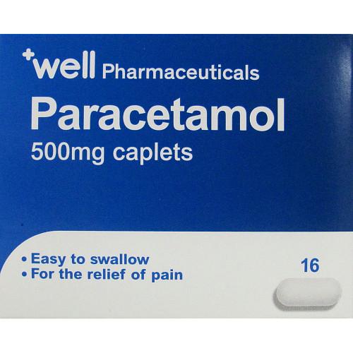 Well Paracetamol Caplets