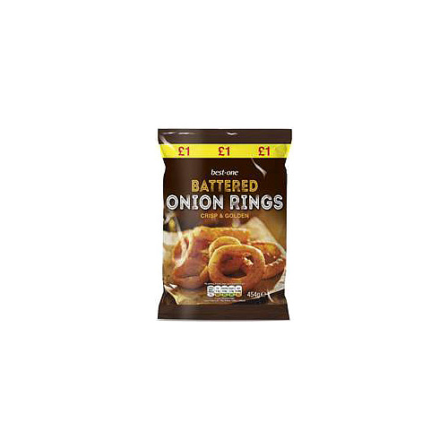 Best One Battered Onion Rings PM £1