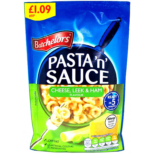 Batchelors Pasta'n'sauce Cheese Leek & Ham £1.09