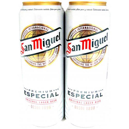 San Miguel Premium Especial Original Lager Beer 4 x 568ml