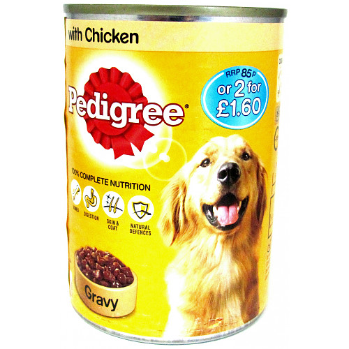 Pedigree Chunks In Gravy Chicken PM 85p